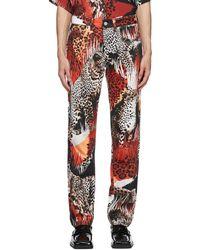 Martine Rose Multicolour G-roma Jeans