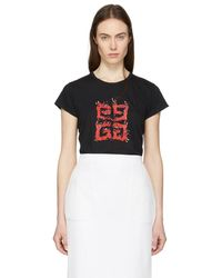 Givenchy - Black Flame 4g T-shirt - Lyst