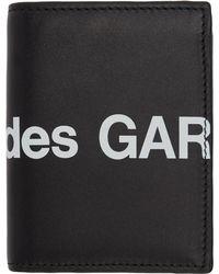 Comme des Garçons Black Huge Logo Card Holder