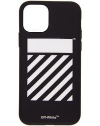 Off-White c/o Virgil Abloh Etui pour iPhone 11 Pro noir Diagonal