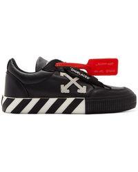 Off-White c/o Virgil Abloh - Black Arrow Low Vulcanized Sneakers - Lyst