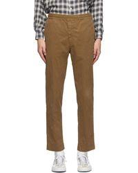 President's Khaki Garment-dyed Vernon Pants - Natural