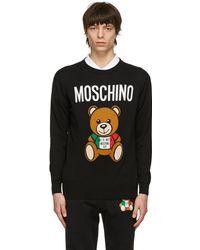 Moschino - ブラック Italian Teddy Bear セーター - Lyst