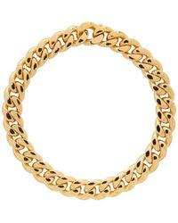 Bottega Veneta Gold Curb Chain Necklace - Metallic