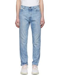 Stella McCartney - Blue Bleached Jeans - Lyst