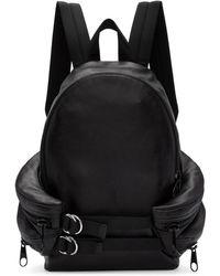 2fd474c54865 Alexander Wang - Black Double Buckle Backpack - Lyst