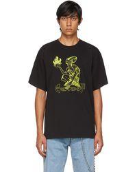 Rassvet (PACCBET) ブラック & グリーン T シャツ