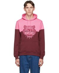 Capuche Rose Bourgogne Tone Et Pull A Two Tiger rsQhtdC