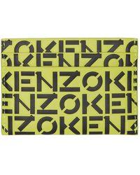 KENZO モノグラム カード ケース - マルチカラー