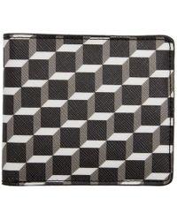 Pierre Hardy - Black Cube Perspective Bifold Wallet - Lyst