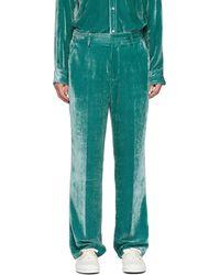 Sies Marjan Pantalon vert Velvet Cord