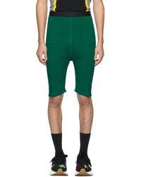 Marni - Green Knit Shorts - Lyst