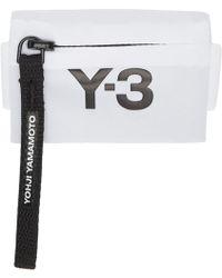 405cfbbba36d0 Y-3 - Logo Print Zip Wallet - Lyst