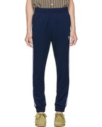 adidas Originals - Navy Sst Lounge Trousers - Lyst