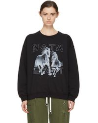 Baja East - Black Freedom Sweatshirt - Lyst