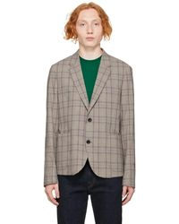 PS by Paul Smith グレー チェック ブレザー