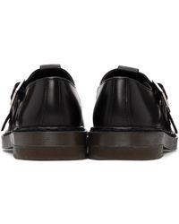 A.P.C. Chaussures oxford Lilou noires