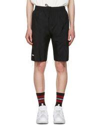 Vetements Black Reebok Edition Biker Track Shorts