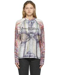 Rassvet (PACCBET) Or Slava Mogutin Edition L/s T-shirt - Multicolour