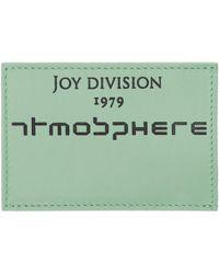 Raf Simons Blue Joy Division Atmosphere Card Holder