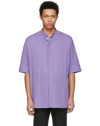 Haider Ackermann   Purple Oversize Shirt   Lyst