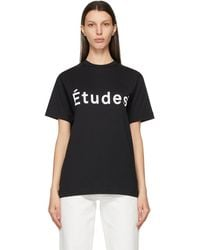 Etudes Studio - ブラック Wonder T シャツ - Lyst