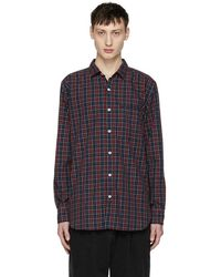 Nonnative - Red Tartan Gardener Long Shirt - Lyst