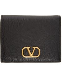 Valentino Garavani - コレクション ブラック Vlogo ウォレット - Lyst