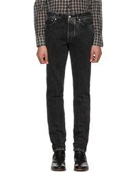 Givenchy - Black Vintage Slim Jeans - Lyst