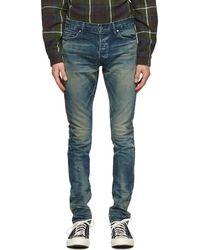 John Elliott Blue 'the Cast 2' Jeans