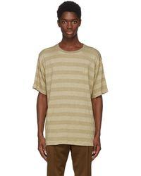 Needles - Beige Papillon T-shirt - Lyst