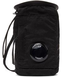 C.P. Company Nylon B Messenger Bag - Black