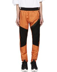 Julius - Orange And Black Lounge Trousers - Lyst