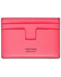 Tom Ford - ピンク T-line カード ケース - Lyst