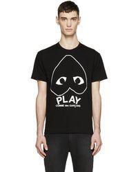 Play Comme des Garçons - Black Heart Logo T-shirt - Lyst
