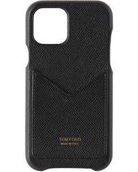 Tom Ford ブラック カード スロット Iphone 11 Pro ケース
