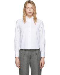 AMI ホワイト Ami De Coeur シャツ
