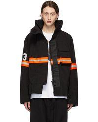 R13 ブラック Fireman ジャケット