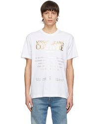 Versace Jeans Couture ホワイト Etichetta T シャツ