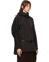 Juun.J Belted Coat - Black