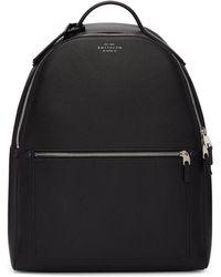 Smythson - Black Burlington Backpack - Lyst