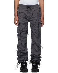 99% Is Gray And Black Gobchang Lounge Pants