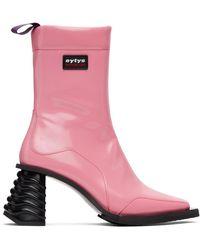 Eytys ピンク Gaia ブーツ