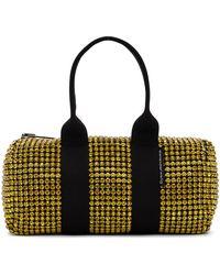 Alexander Wang Mini sac Cruiser noir et jaune à verre taillé