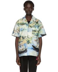 Off-White c/o Virgil Abloh - Multicolor Lake Holiday Shirt - Lyst