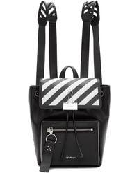 Off-White c/o Virgil Abloh - Black Diag Backpack - Lyst