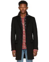 Mackage - Black Wool Skai-b Coat - Lyst