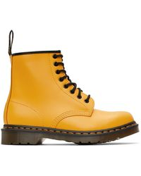 Dr. Martens イエロー 1460 ブーツ