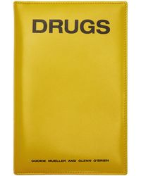 Raf Simons - Yellow Zipped Book Pouch - Lyst
