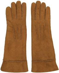 Isabel Marant - Tan Shearling Gloves - Lyst